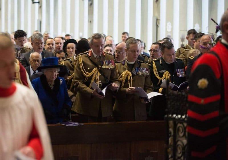 Army Chaplaincy 100th Anniversary of Royal Prefix Service
