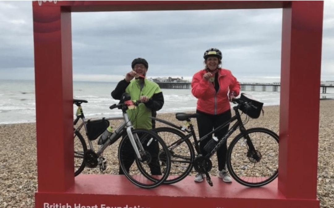 Bikers4Bibles – NMBS Team Complete London to Brighton Fund Raiser.